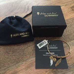 Alex & Ani Feather bracelet